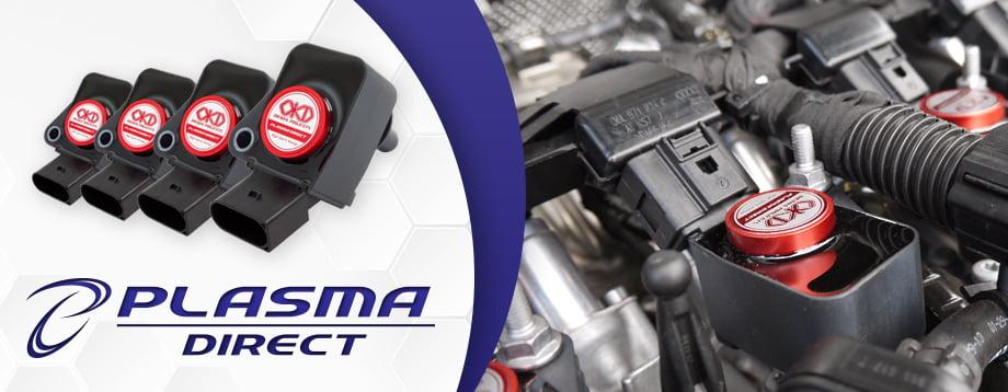 Okada Projects - Plasma Direct: EUPD8002110R > Audi > 4 2L > 2006+ (set of  8 coils)